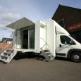 Small Double Podded BE Van - Roadshow trailers