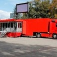 Double Pod Gull Wing LED Trailer - Roadshow trailers