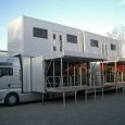 Double Deck Exhibition Truck and Trailer - Roadshow trailers