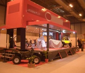 Double Deck Hospitality Trailer - Roadshow Trailers