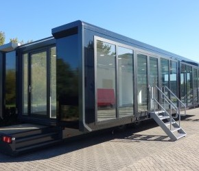 Expandable Hospitality Trailer - Roadshow Trailers