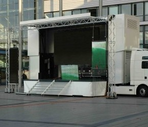 Double Deck Stage Trailer - Roadshow Trailers