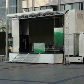 Roadshow trailers - Double Deck Stage Trailer - Double Deck Stage Trailer