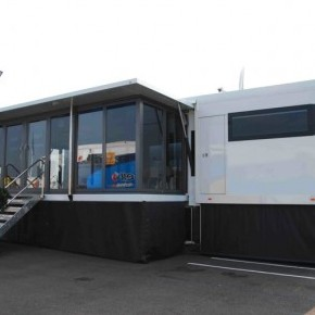 Roadshow trailers - Double Gull Wing Exhibition Trailer - Double Gull Wing Exhibition Trailer